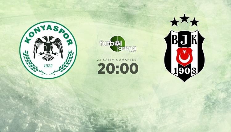 Konyaspor-Beşiktaş canlı izle, Konyaspor-Beşiktaş şifresiz İZLE (Konyaspor-Beşiktaş beIN Sports canlı ve şifresiz İZLE)