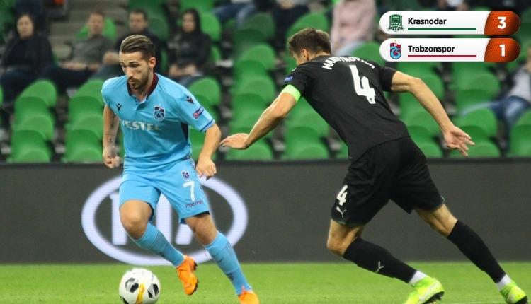 Krasnodar 3-1 Trabzonspor, beIN Sports maç özeti ve golleri (İZLE)