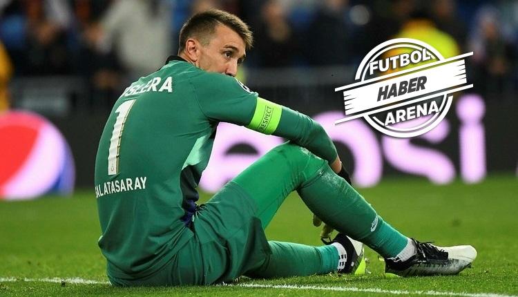 Muslera, Club Brugge maçında oynayacak mı?