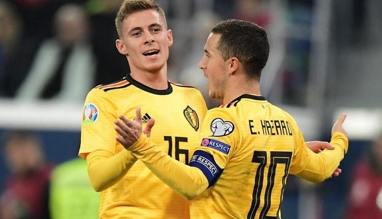 Rusya 1-4 Belçika maç özet ve golleri (Hazard kardeşlerin şovu)