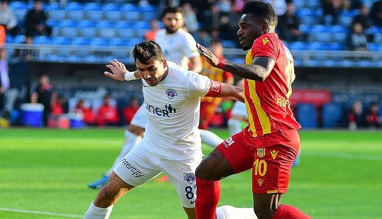Sergen Yalçın'a kırmızı kart! Kasımpaşa 2-2 Yeni Malatyaspor maç özeti ve golleri (İZLE)
