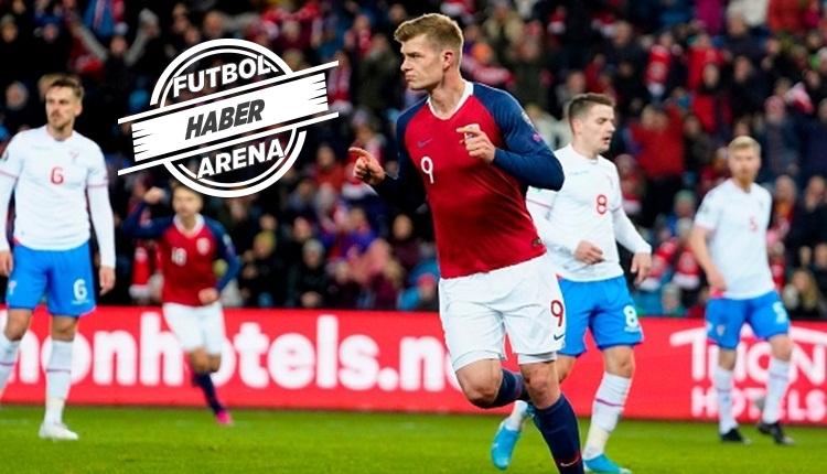 Sörloth'tan Faroe Adaları'na 2 gol (İZLE)