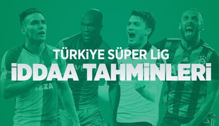 Süper Lig iddaa tahminleri (1-4 Kasım 2019)