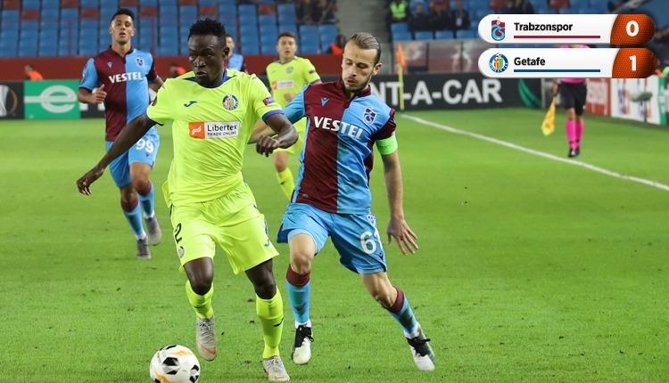 Trabzonspor 0-1 Getafe, Bein Sports maç özeti ve golü (İZLE)