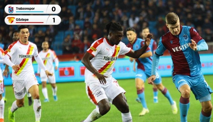 Trabzonspor 0-1 Göztepe, beIN Sports maç özeti ve golü (İZLE)