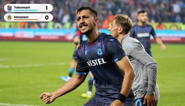 Trabzonspor 1-0 Aytemiz Alanyaspor maç özeti ve golü (İZLE)