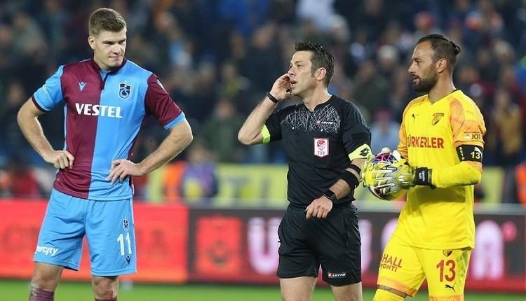 Trabzonspor'dan Göztepe maçı için kural hatası başvurusu