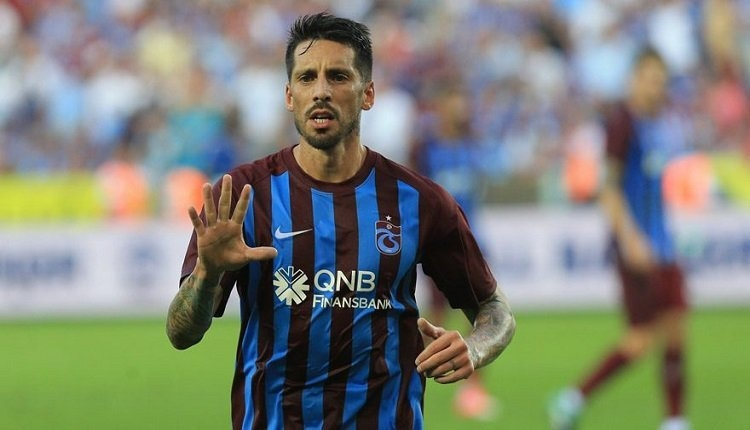 Trabzonspor'dan Jose Sosa için sakatlık açıklaması