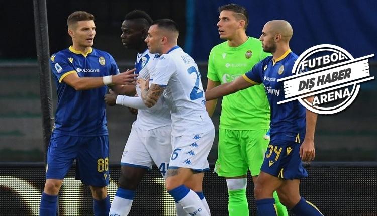 Verona taraftarlarından Balotelli açıklaması: 'Irkçı çağrışım yok!'