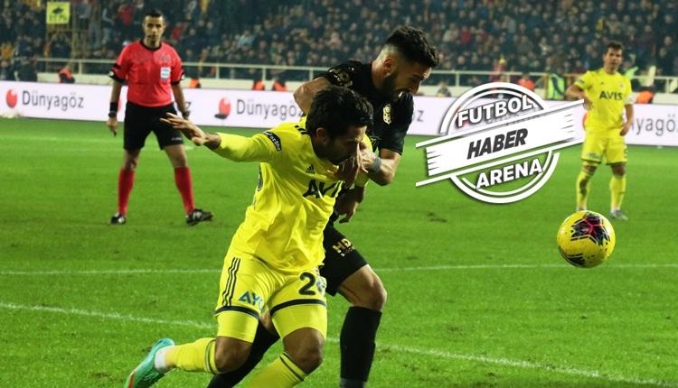 Yeni Malatyaspor - Fenerbahçe maçında iptal edilen gol! Tartışma