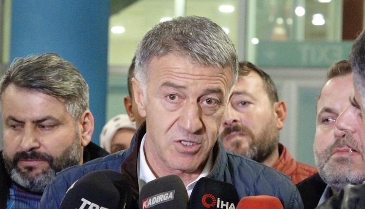 Ahmet Ağaoğlu: 'Sörloth transferi gündemimizde yok'