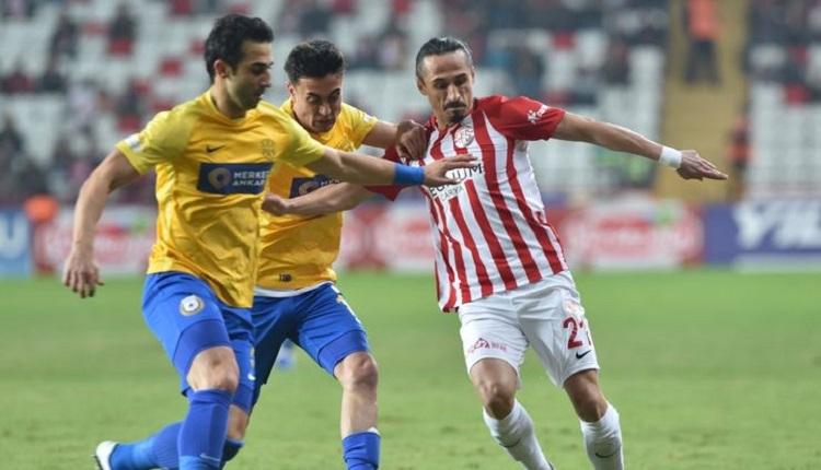 Antalyaspor 2-2 Ankaragücü maç özeti ve golleri (İZLE)