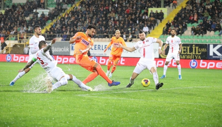 Aytemiz Alanyaspor 0-0 Antalyaspor maç özeti (İZLE)