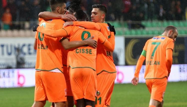 Aytemiz Alanyaspor 2-1 Konyaspor maç özeti ve golleri İZLE
