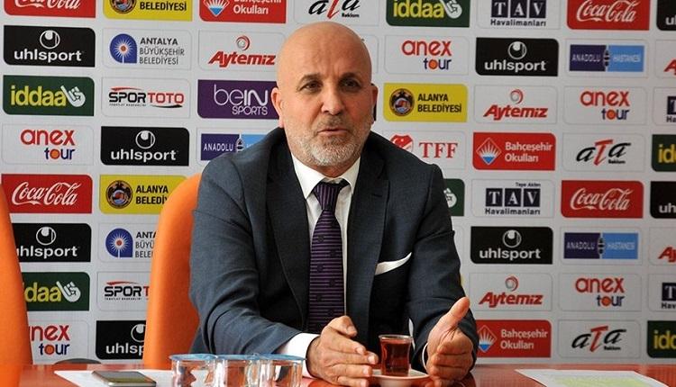 Aytemiz Alanyaspor Başkanı Hasan Çavuşoğlu: 'Çifte standart var!