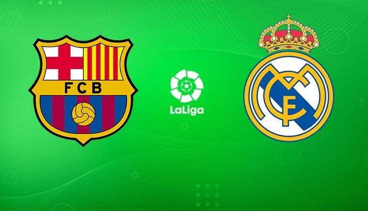 Barcelona - Real Madrid maçı canlı şifresiz izle