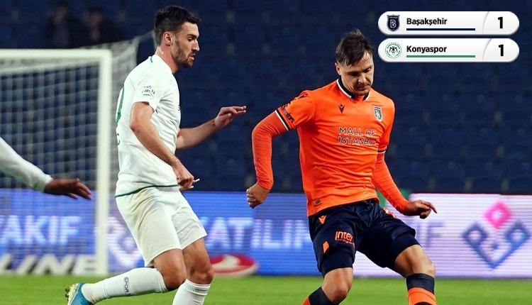 Başakşehir 1-1 Konyaspor, Bein Sports maç özeti ve golleri (İZLE)