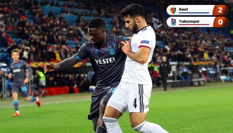 Basel 2-0 Trabzonspor, Bein Sports maç özeti ve golleri (İZLE)