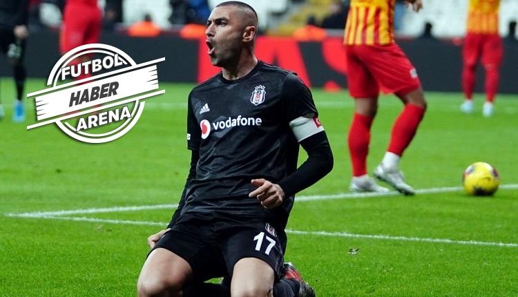 Beşiktaş'ta Burak Yılmaz'ın sözleşmesi uzatıldı