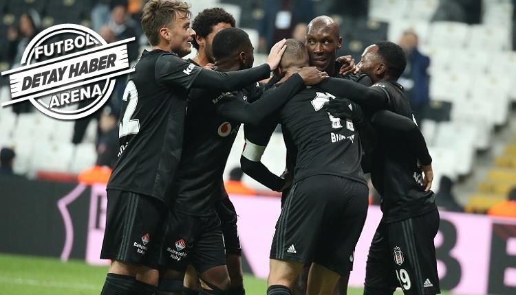 Beşiktaş'tan Kayserispor karşısında sezonun rekoru