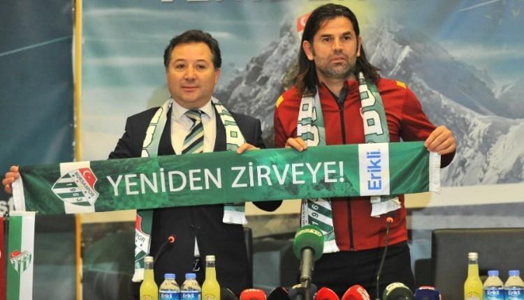 Bursaspor'da İbrahim Üzülmez dönemi!