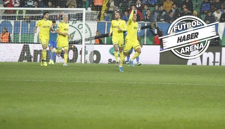 Çaykur Rizespor 1-2 Fenerbahçe maç özeti ve golleri (İZLE)
