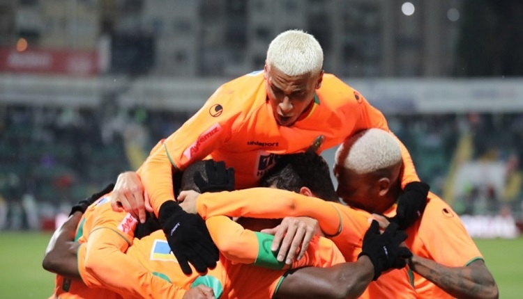 Denizlispor 1-5 Aytemiz Alanyaspor maç özeti ve golleri İZLE
