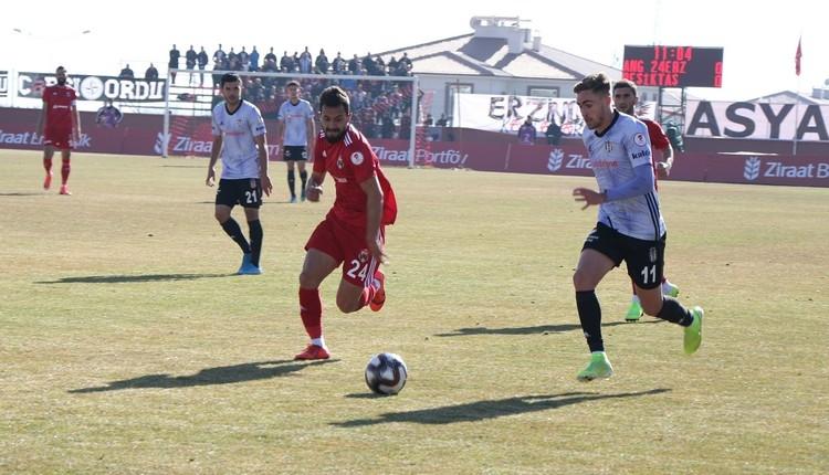 Erzincanspor 2-0 Beşiktaş maç özeti ve golleri