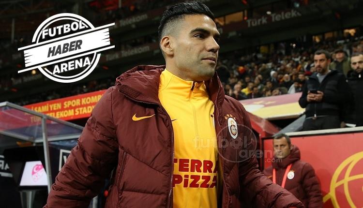 Falcao Galatasaray'da 68 gün sonra kadroda yer aldı