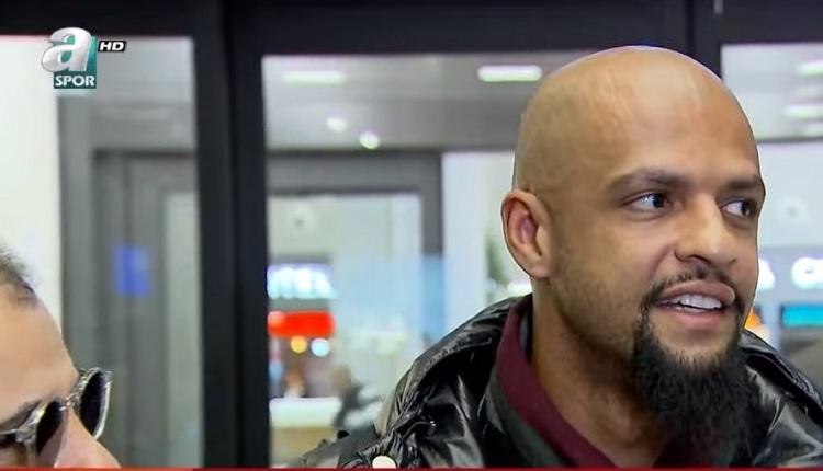 Felipe Melo İstanbul'da! Fenerbahçe göndermesi