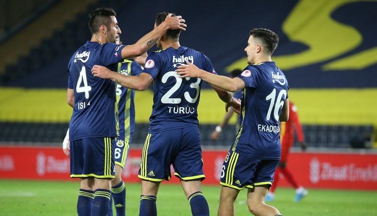 Fenerbahçe 4-0 İstanbulspor maç özeti ve golleri (İZLE)