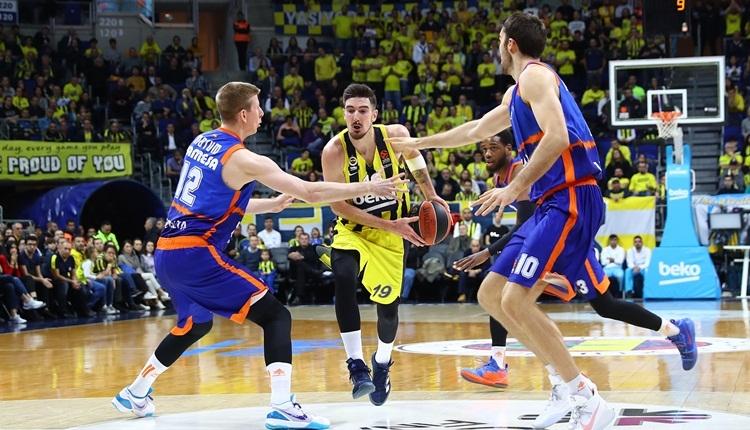 Fenerbahçe Beko sahasında Valencia'ya kaybetti! Euroleague puan durumu