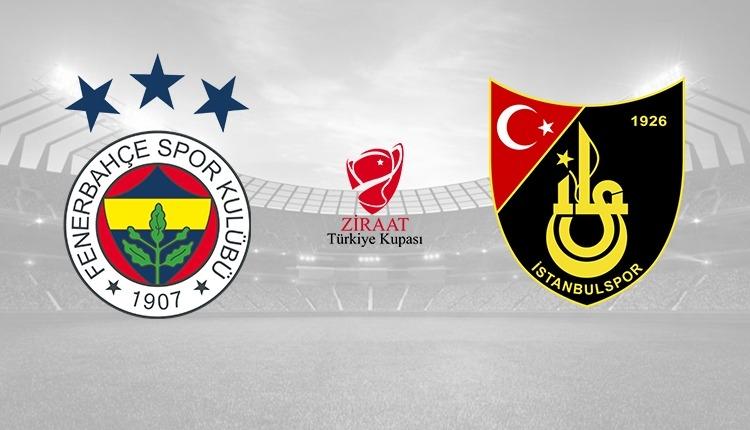 Fenerbahçe - İstanbulspor maçı canlı şifresiz izle (A Spor canlı İZLE)