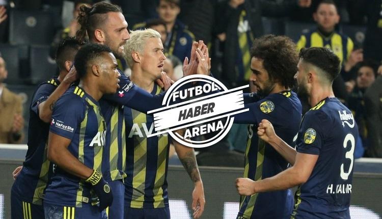 Fenerbahçe istatistiklerde rakiplerine fark attı