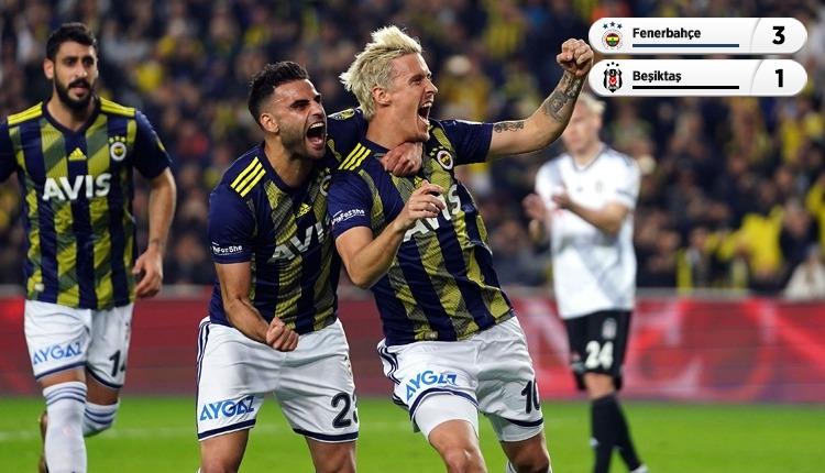 Fenerbahçe, Kadıköy'de Beşiktaş'ı 3 golle geçti (İZLE)
