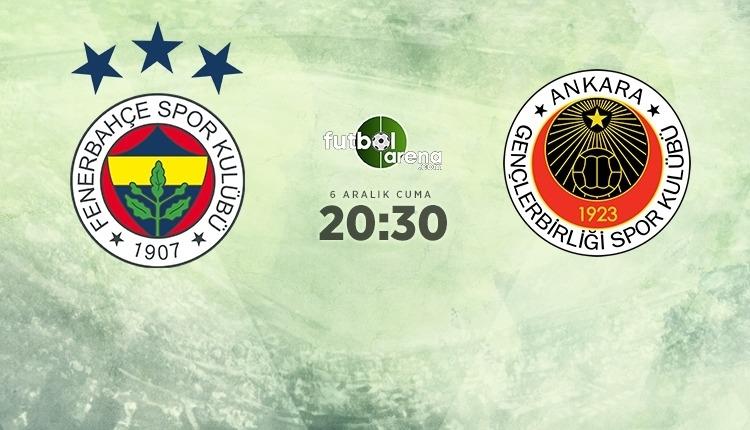 Fenerbahçe-Gençlerbirliği canlı izle, Fenerbahçe-Gençlerbirliği şifresiz İZLE (Fenerbahçe-Gençlerbirliği beIN Sports canlı ve şifresiz İZLE)