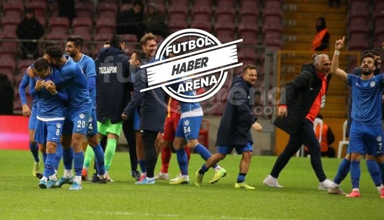 Galatasaray 0-2 Tuzlaspor maç özeti ve golleri (İZLE)