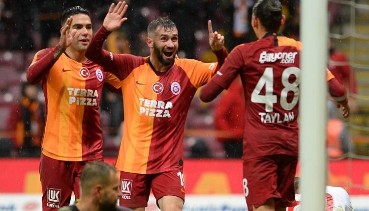 Galatasaray 5-0 Antalyaspor, Bein Sports maç özeti ve golleri (İZLE)