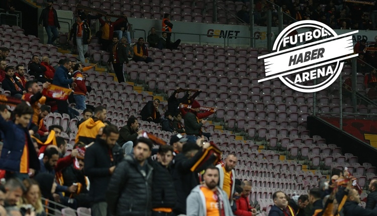 Galatasaray - Ankaragücü maçında tribünler boş kaldı