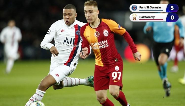 Galatasaray, PSG deplasmanında farklı kaybetti (İZLE)