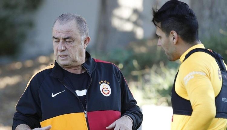 Galatasaray'da Falcao gleişmesi! İdmana katıldı
