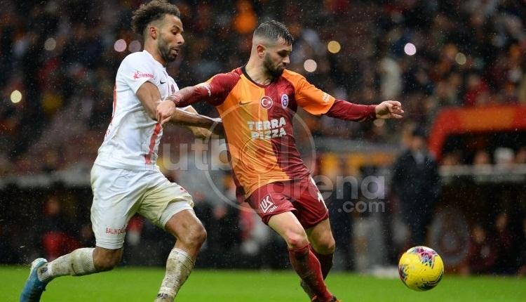 Galatasaray'ın asist kralı Ömer Bayram! Antalyaspor geleneği