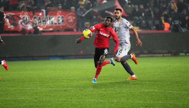 Gaziantep FK 1-1 Yeni Malatyaspor maç özeti ve golleri İZLE