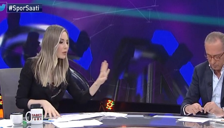 Hande Sarıoğlu Fatih Altaylı kavgası İZLE - (Emre Belözoğlu sorusu Fatih Altaylı stüdyoyu terk etti)
