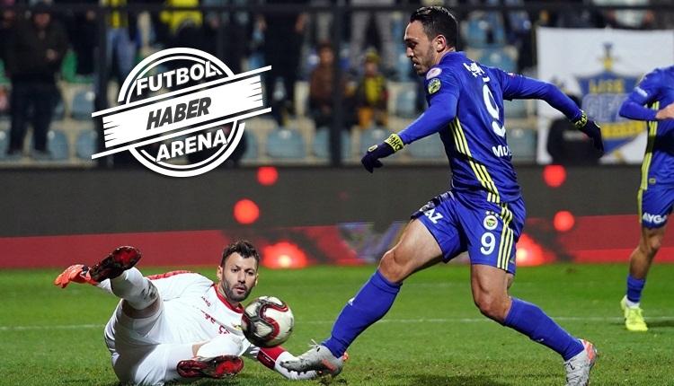 İstanbulspor 0-2 Fenerbahçe maç özeti ve golleri (İZLE)