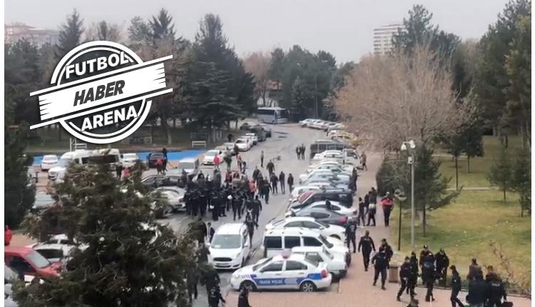 Kayseri'de ortalık karıştı! Genel kurul öncesi gerginlik