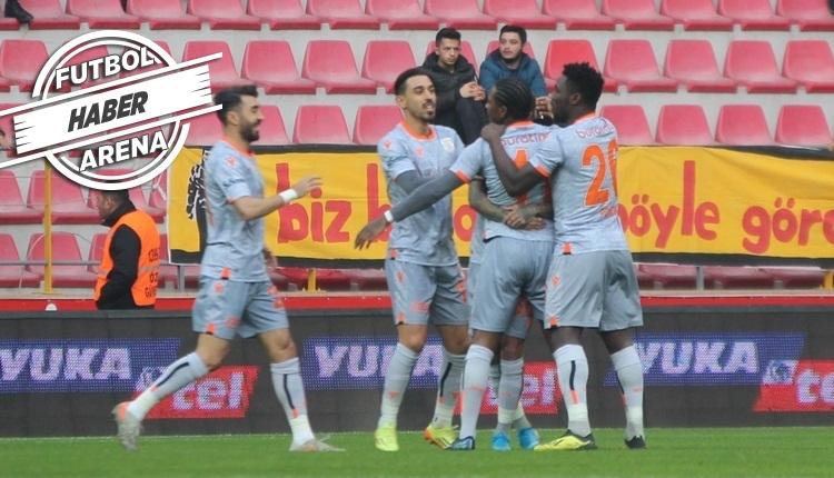 Kayserispor 1-4 Başakşehir maç özeti ve golleri (İZLE)