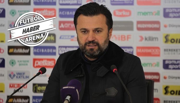 Kayserispor'da teknik direktör Bülent Uygun istifa etti