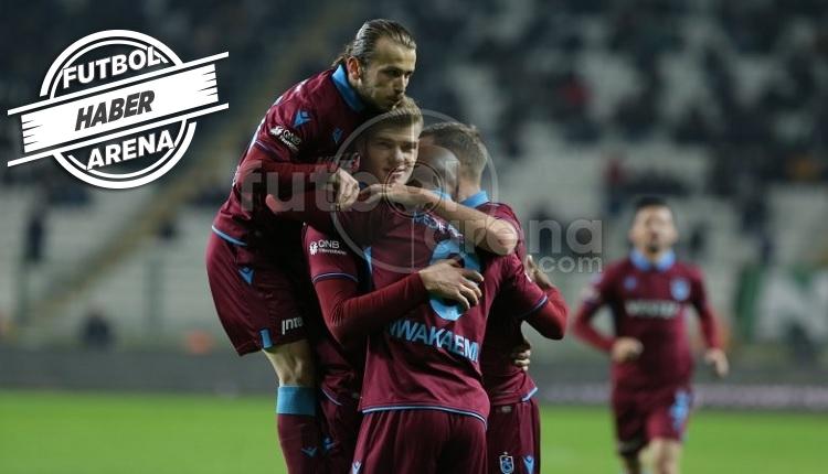 Konyaspor 0-1 Trabzonspor maç özeti ve golü İZLE