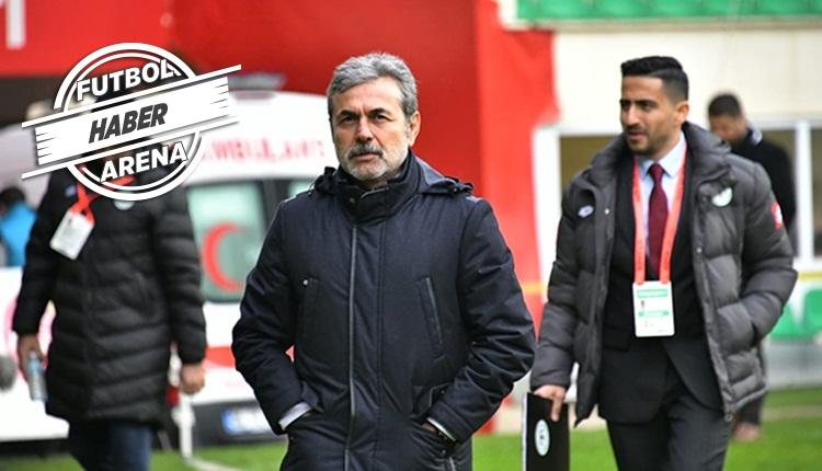 Konyaspor yönetimi Aykut Kocaman için kararını verdi